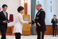 박근혜 대통령, 뎀프시 美 함참의장에게 통일장 수여