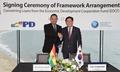 최경환 부총리, 볼리비아와 EDCF 기본약정 갱신
