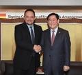 최경환 부총리, 볼리비아 재무장관 양자회담