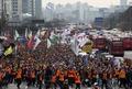공무원들의 행진