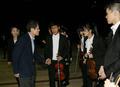 한빛맹학교 오케스트라 학생들 격려하는 조희연