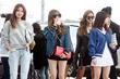 소녀시대 '각각 개성을 살린 공항패션'