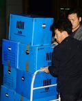 동국제강 압수품 옮기는 검찰