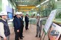 보령화력발전소 시설 점검하는 윤상직 산업통상자원부 장관