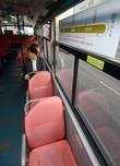 텅 빈 출근전용 급행버스