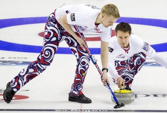 컬링 패션을 리드하는 노르웨이 선수들