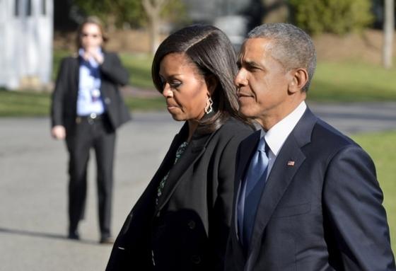 오바마 부부 '몸이 두 개였으면…'