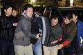 대구 성서경찰서로 압송되는 30대 여성 납치범