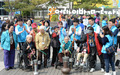 JW중외그룹, 장애인들과 봄나들이