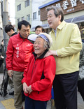 김무성 대표, 안상수 후보 지원유세