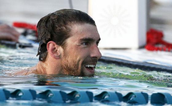 복귀한 수영황제 펠프스