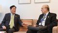 최경환 부총리, 앙헬 구리아 OECD 사무총장과 양자회담