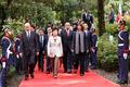 볼리바르 기념관 방문한 박근혜 대통령