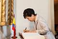박근혜 대통령, 볼리바르 기념관 방문