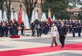 콜롬비아 대통령궁 방문한 박근혜 대통령