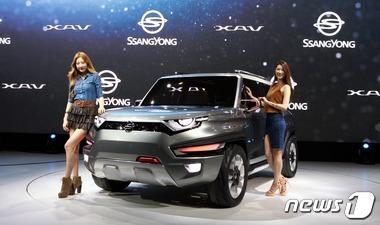 쌍용차, SUV 콘셉트카 XAV 세계최초 공개