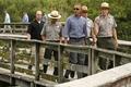 [사진]에버글레즈 국립공원 둘러보는 오바마