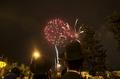 [사진]이스라엘  건국 67주년 불꽃놀이
