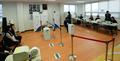 4.29 재보궐선거 사전투표 '한산한 투표소'