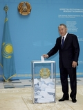 [사진] 나자르바예프 카자흐 대통령 집권은 앞으로도 '쭉'