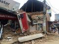 지진으로 처참히 무너진 건물