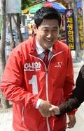 보궐선거 D-2, 오신환 후보 '총력 유세'