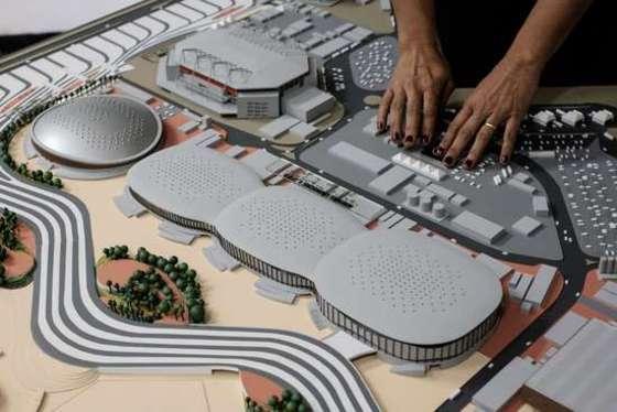 리우 장애인올림픽공원 모형도