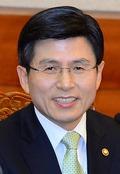 총리 후보자로 내정된 황교안 법무부 장관