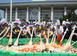 국회의사당 앞 초대형 비빔밥