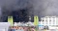 김포 물류센터 화재, 소방당국 진화중