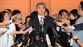 취재진 질문에 답하는 성김 미 국무부 대북정책특별대표