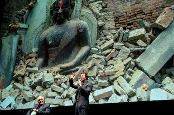 키아누 리브스, 네팔 지진 자선행사