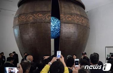 밀라노 엑스포 한국관  '대형옹기' 전시관