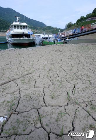 사상 최악의 가뭄...바닥도 농심도 타들어간다