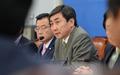 새정치 '친박게이트 대책위 및 법사위 연석회의'
