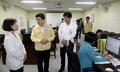메르스 심리지원단 찾은 황교안 총리