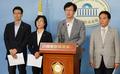 정의당, 朴 대통령 거부권 행사 입장발표