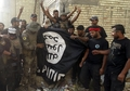 [사진]환호하는 이라크 군