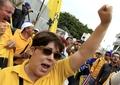 [사진]거리로 나온 코스타리카 공무원들