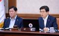 국무회의 참석한 황교안 총리-최경환 부총리