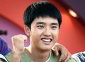 엑소 디오, '순수 청년의 힘찬 파이팅!'