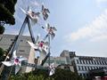 '광복 70주년 축하하는 태극 바람개비'