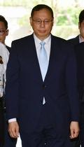 법원 출석하는 LG 전자 조성진 사장