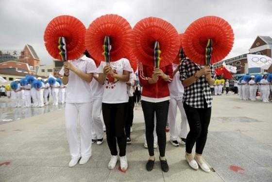 동계올림픽 유치축하 행사 미리 준비