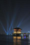 제12회 포항국제불빛축제 '레이져 퍼포먼스'