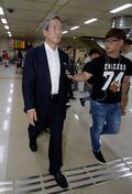 'FIFA 회장 출마' 정몽준, 중국 출장 후 귀국