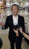 정몽준 'FIFA 회장 출마, 바쁜 행보'