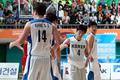 U대회 남자농구 '중국에 승리'