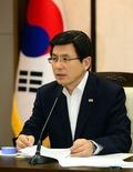 황 총리, '사랑하라! 대한민국' 전시회 개막식 참석