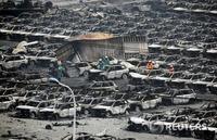 폭발 원인 조사 시작…사망자 55명으로 늘어나